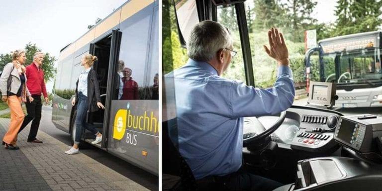 Der Buchholz Bus schließt die Türen!