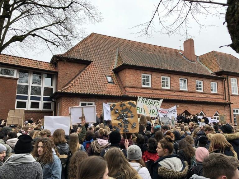 Fridays for Future – Protestmarsch in Buchholz