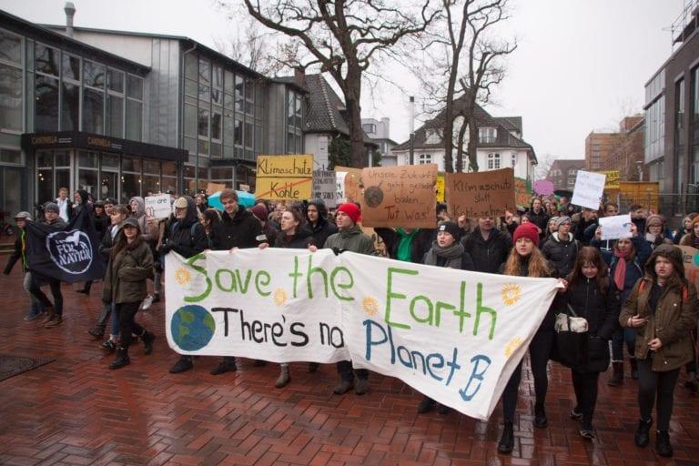 Buchholzer Schüler kämpfen für ein besseres Klima
