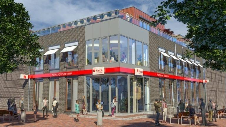 Die neue Haspa-Filiale Buchholz eröffnet
