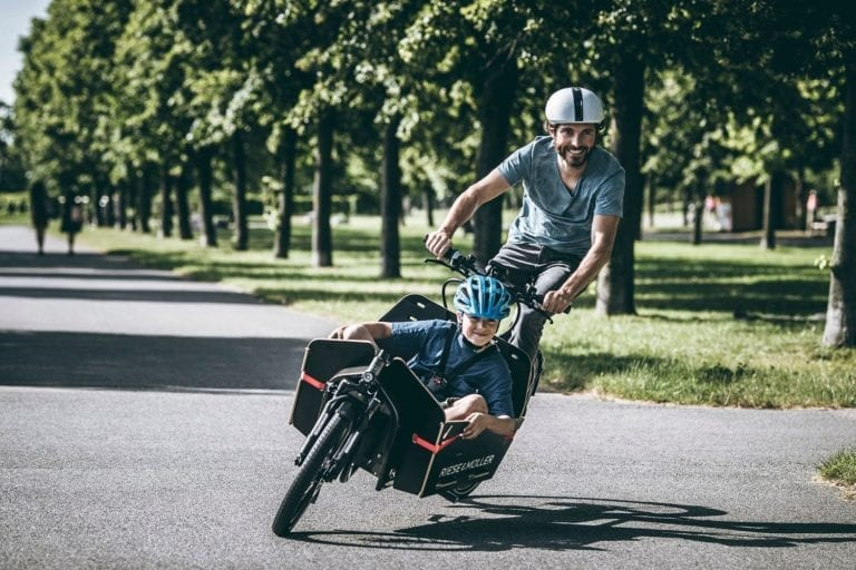 Sechs neue Lastenrad-Parkplätze in Buchholz