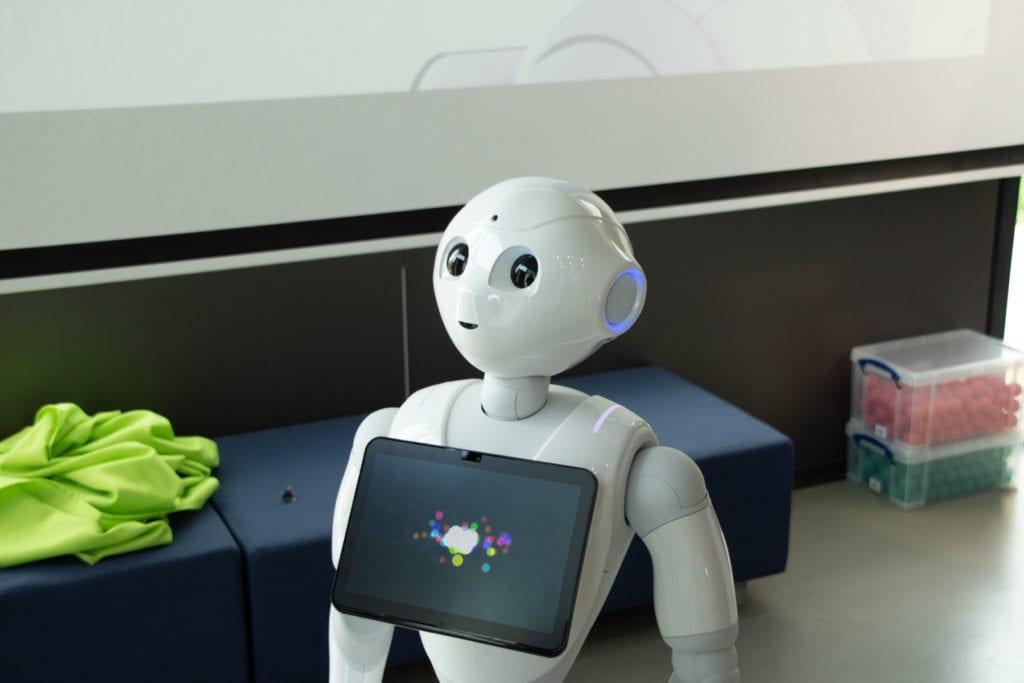 Pepper - Ein Roboter in der zukunftswerkstatt