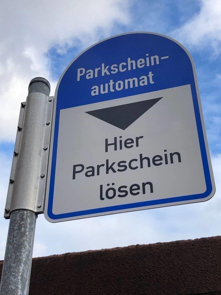 Kostenlos parken an den Adventssamstagen