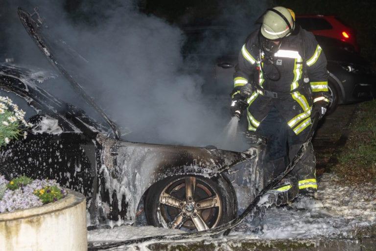 BWM brennt am Rosenweg