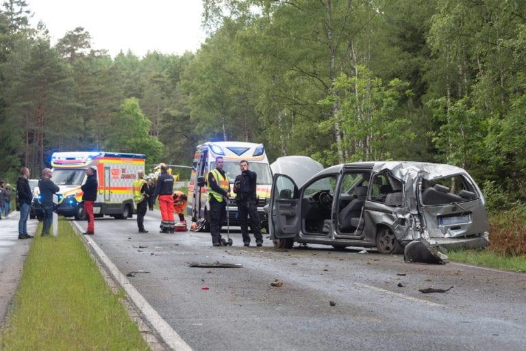 Unfall in den Lohbergen – 4 Verletzte