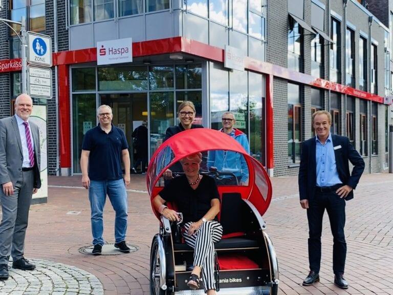 Ein neues Lastenrad für Buchholz – Ab sofort kostenlos ausleihen