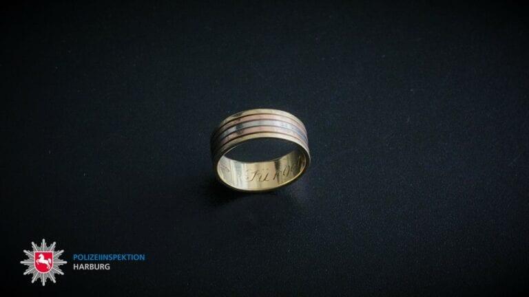 Wem gehört dieser Ehering?