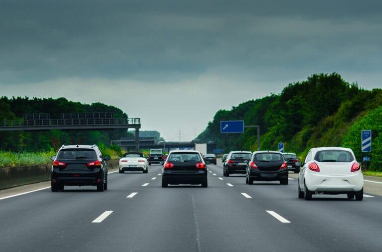 A7 Richtung Hamburg am Horster Dreieck gesperrt