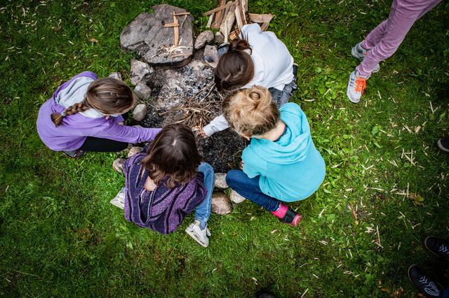 Wildniscamp für kleine Abenteurer