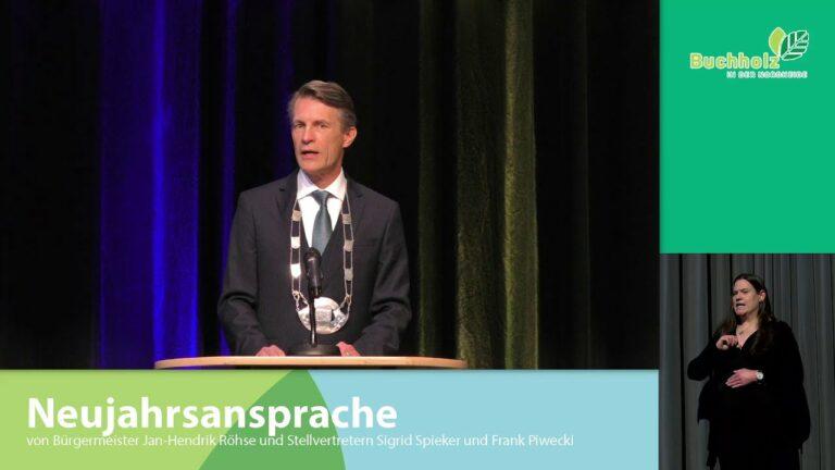 Neujahrsansprache vom Bürgermeister im Video