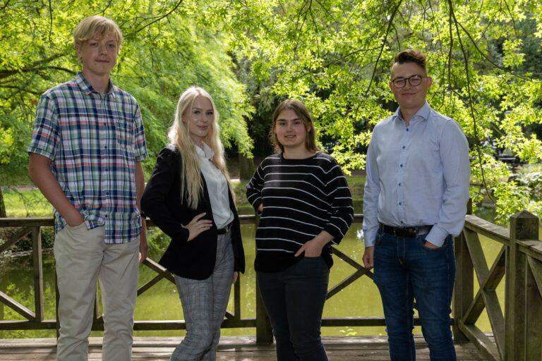Stadt Buchholz begrüßt neue Auszubildende